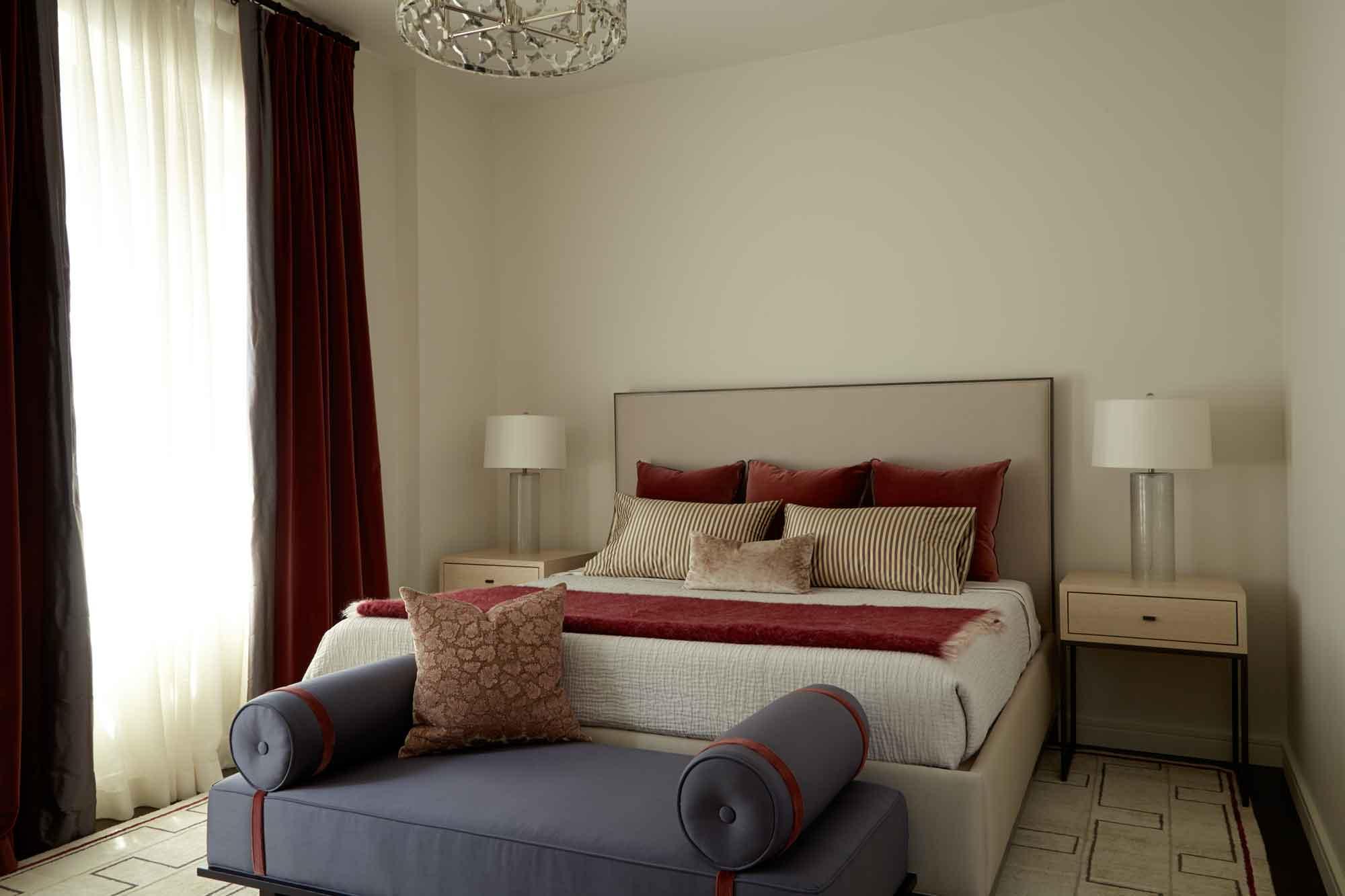 brooke moorhead design bedroom tribeca chic