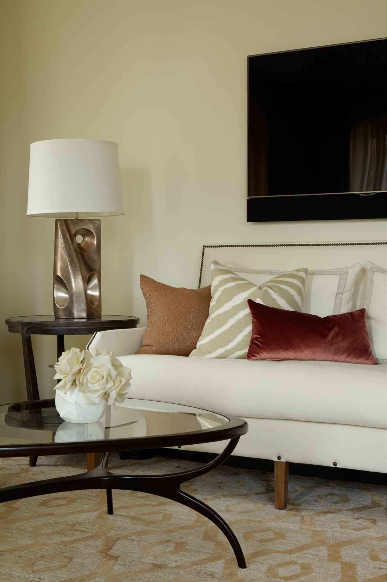 brooke moorhead design tribeca chic living room detail